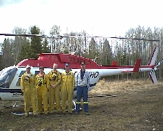 Whitecourt Hac Crew & Pilot of YHQ