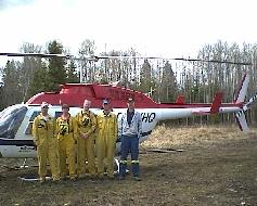 Whitecourt Hac Crew & Pilot of YHQ